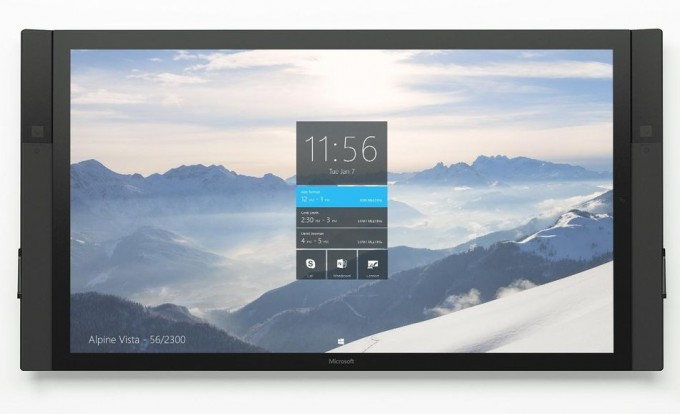Cambios en Surface Hub