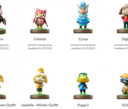amiibos para Animal Crossing