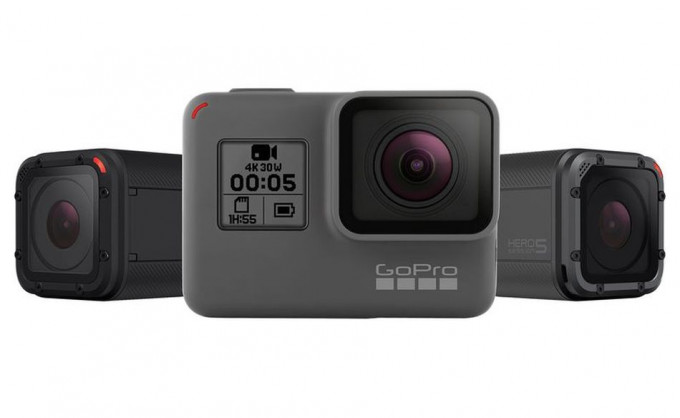 Hero 5 Black y Hero 5 Session