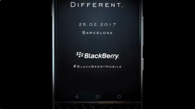evento de BlackBerry