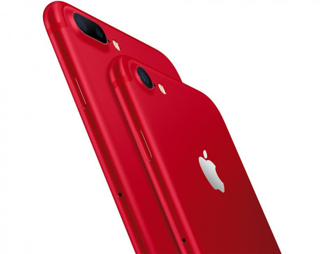 último iPhone RED