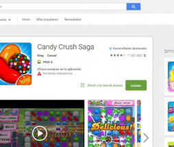 Candy Crush Saga en Google Play