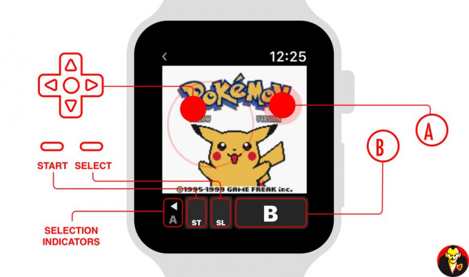 Pokémon Amarillo en Apple Watch