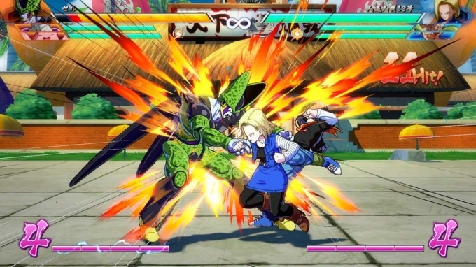 Android 18 vs Cell