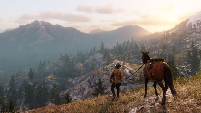 Red Dead Redemption 2 en acción