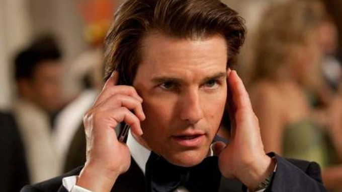 Tom Cruise iPhone
