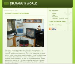Dr.Manu's World Blog