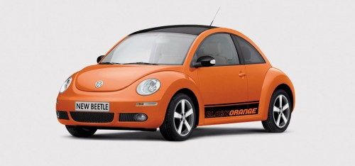 New Beetle BlackOrange