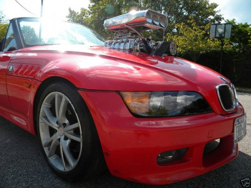 Tuning BMW Z3 Hot Rod